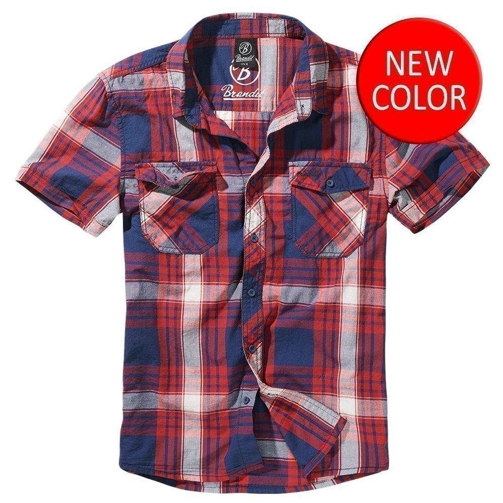 Košile Brandit Roadstar krátký rukáv 7b5e8a6b57