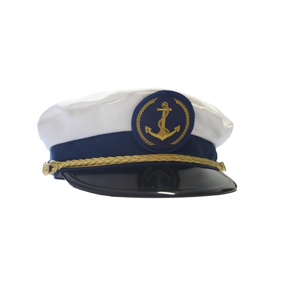 3aa642c5ab4 Čepice marine - kapitánská s nášivkou