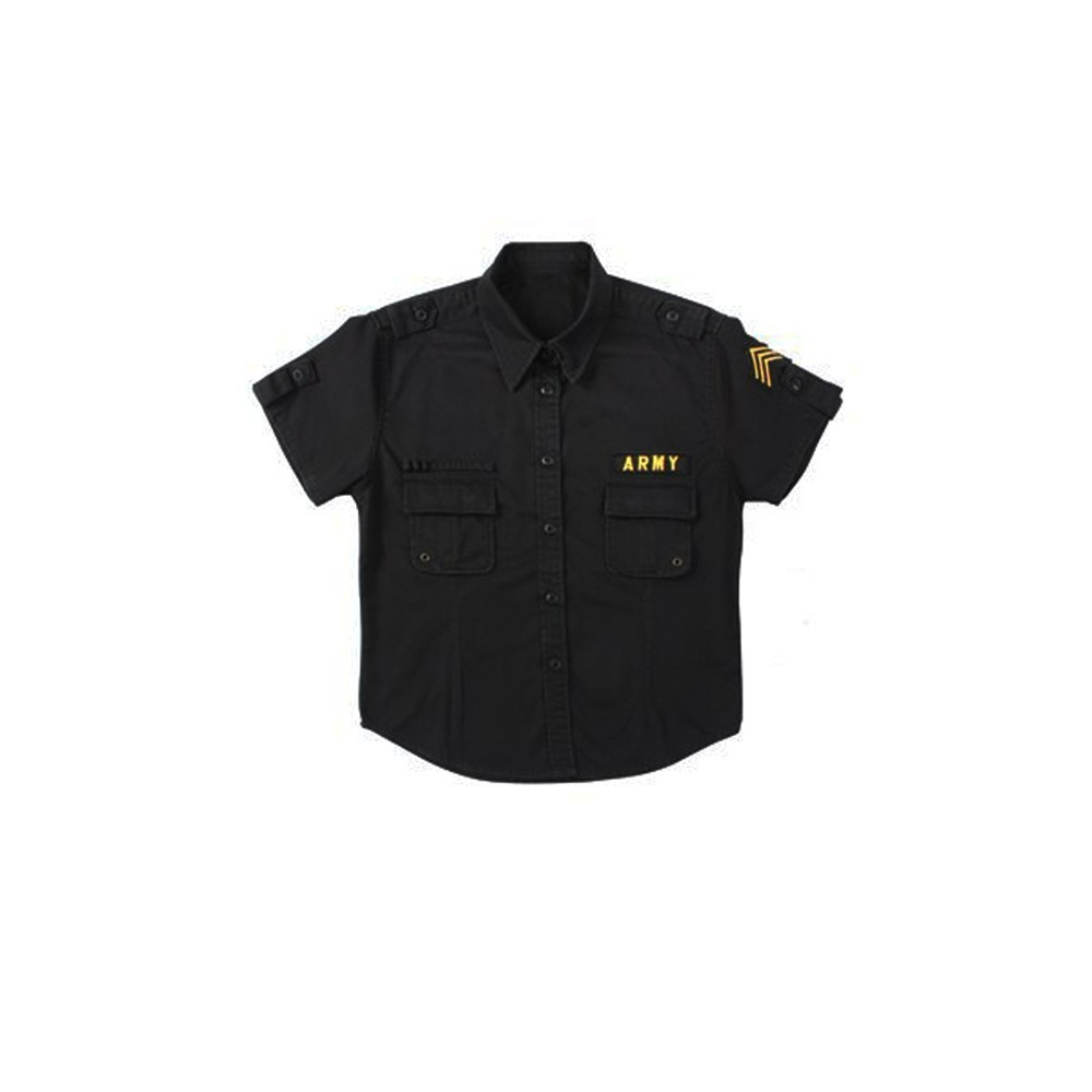 42a500ab3 Dámská košile Vintage Fatigue, Rothco, černá | Army shop Armed.cz