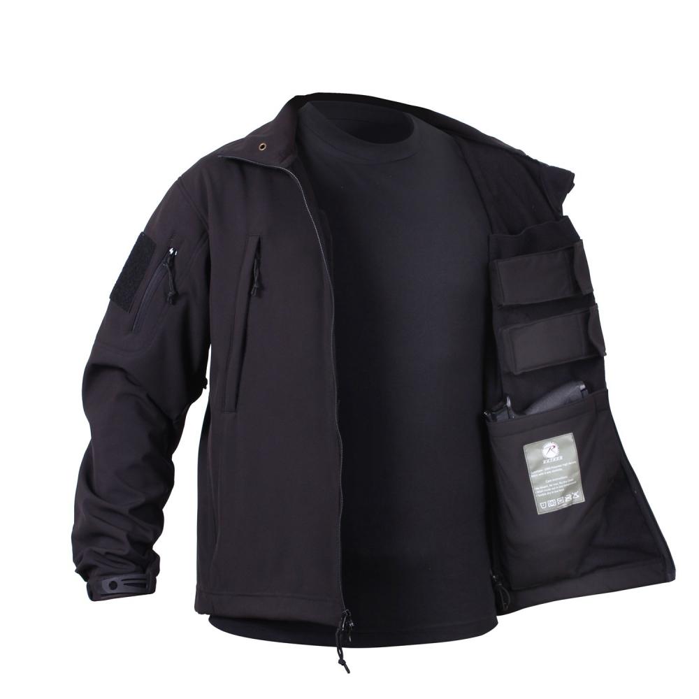 Softshellová bunda Concealed Carry 8b9fb683795