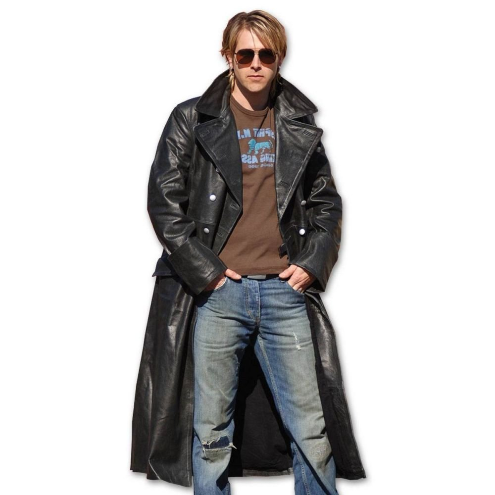 Kabát důstojnický kožený  d7f419a501