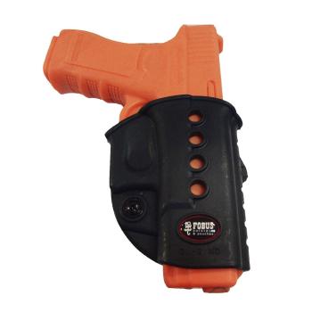 Pouzdro na pistoli Glock 17 a Glock 19, průvlek, levák, Fobus