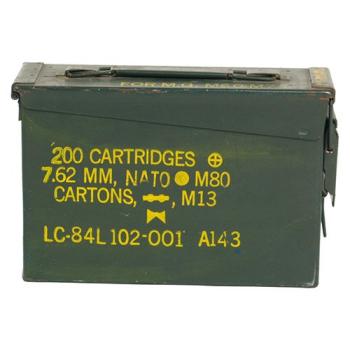 Bedna na munici M19A1, originál, použitá