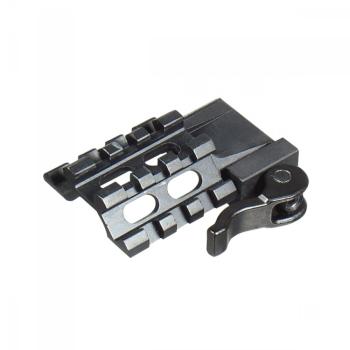 Univerzální rychlo-snímatelná úhlová montáž UTG, 3 RAIL, 3 sloty