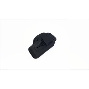 Kydex pouzdro pro Glock 19, vnitřní, černé, poloviční swtg., flush-clip, RH Holsters