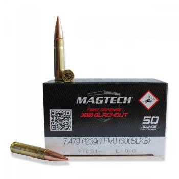 Náboje Magtech .300 AAC BlackOut HPFB (300BLK) 7,47g 123gr., 50 ks