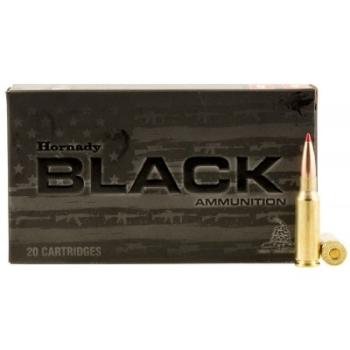 Kulové náboje 6,5 Grendel, Black Line, 123 grs, ELD Match, 20 ks, Hornady