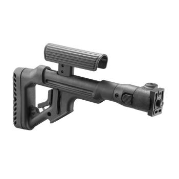 Sklopná pažba FabDefense UAS-VZP pro SA-58 polymerová, černá