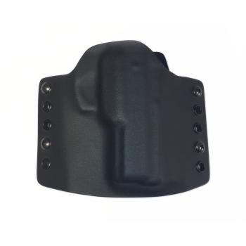 Kydex pouzdro pro Walther CCP, pravé, bez swtg., SpeedLoops 45 mm, černé, RH Holsters