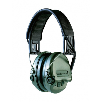 Elektronická sluchátka Supreme Pro, zelená