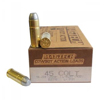 Náboje .45 LONG COLT LFN (45D) Cowboy 16, 250 gr, 50 ks, Magtech