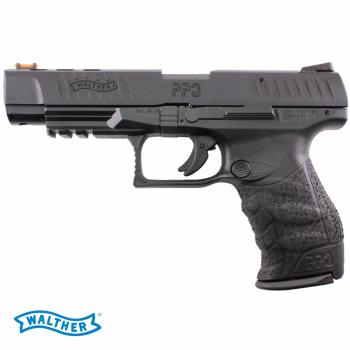 """Pistole Walther PPQ M2, 22LR, 5"""", černá, zásobník 12Nb"""