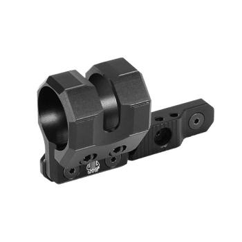 Úhlová offsetová nízkoprofilová montáž UTG pro taktickou svítilnu, systém KeyMod