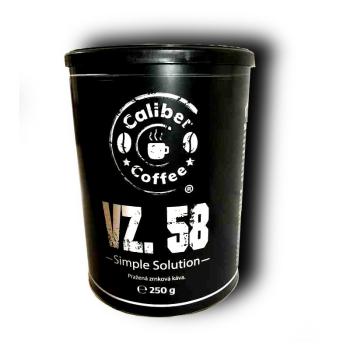 Pražená káva vz. 58, plechovka 250 g, Caliber Coffee®