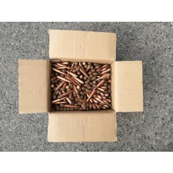 Náboje ráže 7,62x39 - Kyrgyzstán, bezjádrové, 500 ks