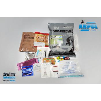 Vojenská potravinová dávka MRE, W1, Arpol
