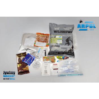 Vojenská potravinová dávka MRE, W3, Arpol