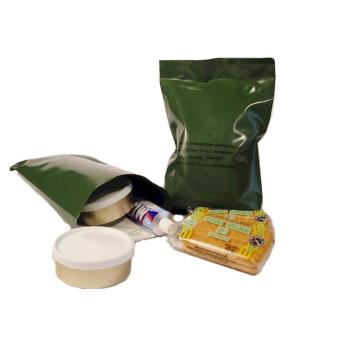 Vojenská potravinová dávka MRE,  S - studená, Arpol