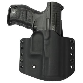 """Kydex pouzdro pro Walther PPQ M2 4"""", pravé, bez sweatguardu, černé, RH Holsters"""