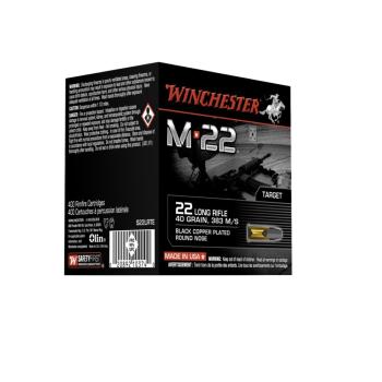 Náboje .22LR Winchester M22, 40gr, 400 ks