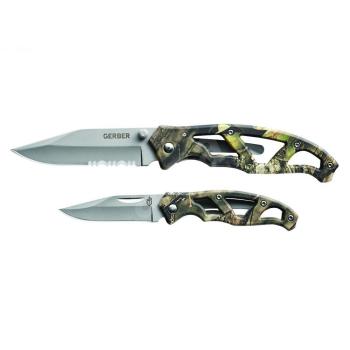 Sada nožů Gerber Paraframe Combo, barva Mossy Oak