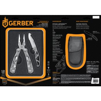Sada kleští Gerber Suspension a nože Mini Paraframe v dárkové krabičce