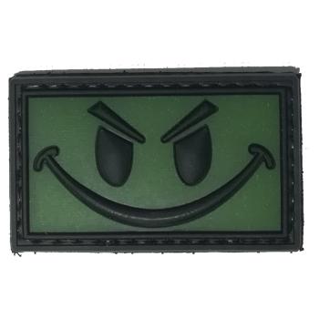 PVC nášivka Smile, svítící, ARMED PATCHES