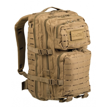 Batoh Mil-Tec U.S. Assault Pack Large, 36 L, laser cut, coyote, Mil-Tec