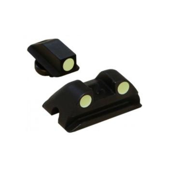 Mířidla Walther P99/PPQ/PPS, ocel, 3-dot, fosfor (luminiscenční)