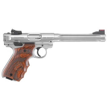 Pistole Ruger MKIV Hunter - Laminate Ergo Grip, .22LR