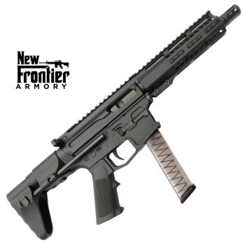 "Puška samonabíjecí AR-9, New Frontier Armory PC9, hlaveň 8"", pažba MVB Industries"