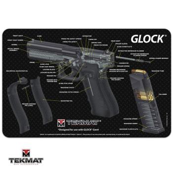 Podložka TekMat s motivem Glock řez