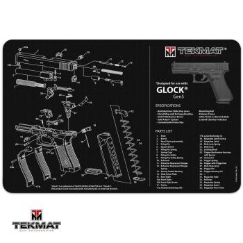 Podložka TekMat s motivem Glock Gen5