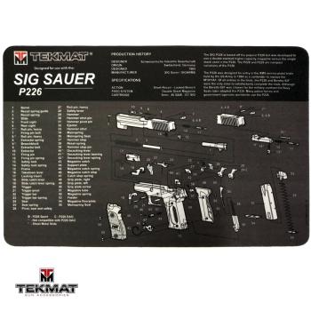 Podložka TekMat s motivem Sig Sauer P226