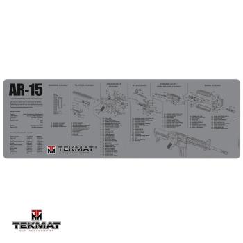 Podložka TekMat s motivem AR-15 šedá