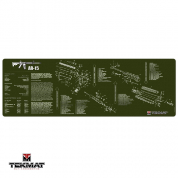 Podložka TekMat s motivem AR-15 olivová