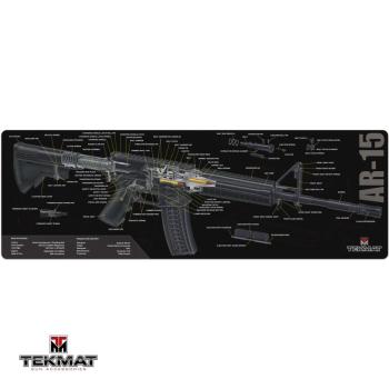 Podložka TekMat s motivem AR 15 řez