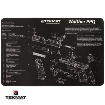 Podložka TekMat s motivem Walther PPQ