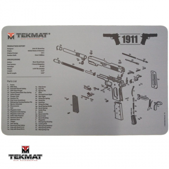 Podložka TekMat s motivem 1911 šedá