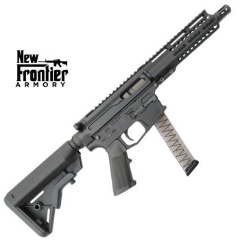 "Puška samonabíjecí AR-9, New Frontier Armory PC9, hlaveň 8"", pažba B5 systems"