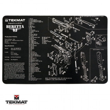 Podložka TekMat s motivem Beretta 92