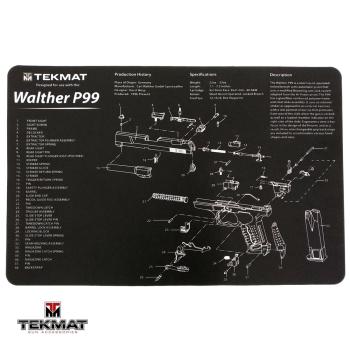 Podložka TekMat s motivem Walther P99