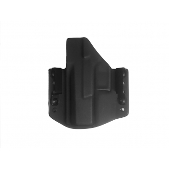 Kydex pouzdro pro CZ P10 C, pravé, pol. swtg., černá/černá, RH Holsters