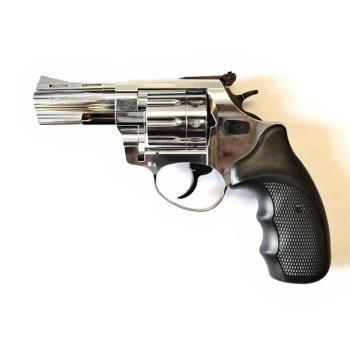 """Flobertkový revolver ZORAKI STREAMER 3"""" lesklý chrom cal: 6mm ME Flobert"""