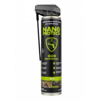 Čistící, mazací a antikorozní sprej Nanoprotech Gun, 300 ml