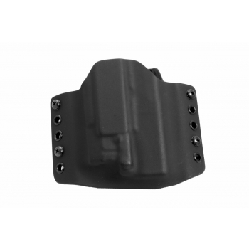 Kydex pouzdro pro Glock19 s Vir C5L, opaskové, pravé, černé, bez swtg., RH Holsters