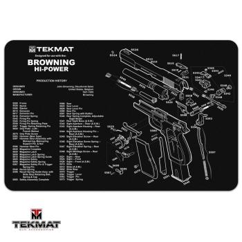 Podložka TekMat s motivem Browning Hi Power