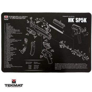 Podložka TekMat s motivem Heckler & Koch SP5K