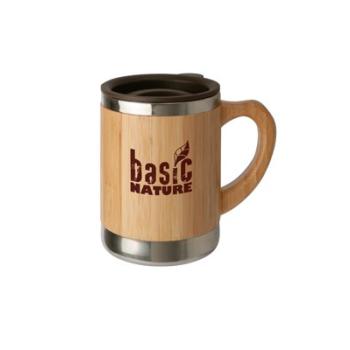 Termohrnek Beaker 'Bamboo', 0,3 L, BasicNature