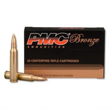 Náboje PMC .223 Rem. FMJ 55gr. 20 ks